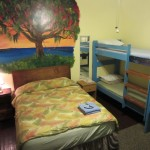 Queen bed and Bunk Bed